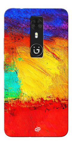 Digiprints ColorFull background Printed Designer Back Case Cover For Gionee A1