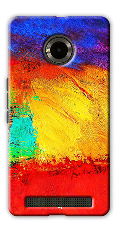 Digiprints ColorFull background Printed Designer Back Case Cover For Yu Yuphoria