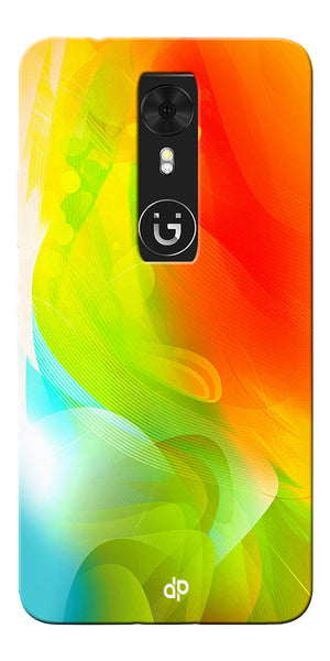 Digiprints  ColorFull Printed Designer Back Case Cover For Gionee A1