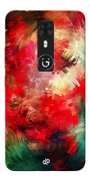 Digiprints  abstract swirl Printed Designer Back Case Cover For Gionee A1
