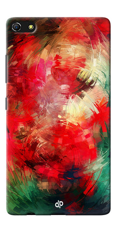 Digiprints  abstract swirl Printed Designer Back Case Cover For Gionee Elife S7