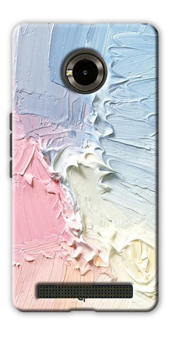 Digiprints Color Pastel Printed Designer Back Case Cover For Yu Yuphoria