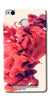 Digiprints Abstract Red Smoke Cloud Printed Designer Back Case Cover For Xiaomi Redmi 3S Prime