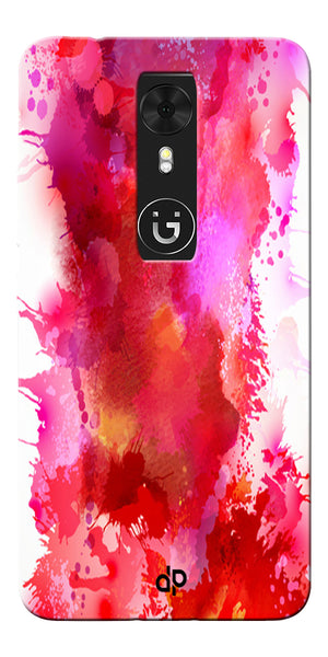 Digiprints multi color water color Printed Designer Back Case Cover For Gionee A1