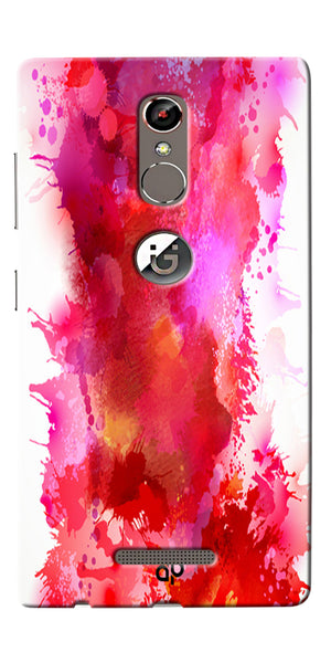 Digiprints multi color water color Printed Designer Back Case Cover For Gionee S6s