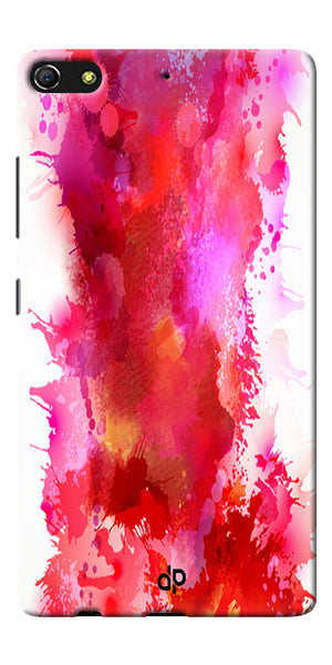 Digiprints multi color water color Printed Designer Back Case Cover For Gionee Elife S7