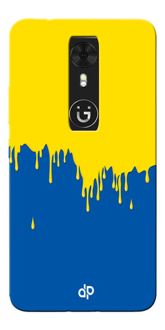 Digiprints dripping paint Printed Designer Back Case Cover For Gionee A1