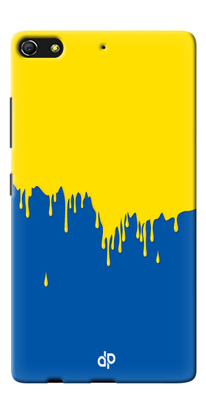 Digiprints dripping paint Printed Designer Back Case Cover For Gionee Elife S7