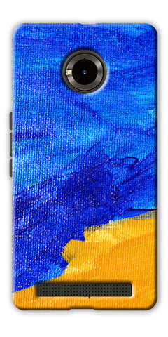 Digiprints abstract painted Printed Designer Back Case Cover For Yu Yuphoria