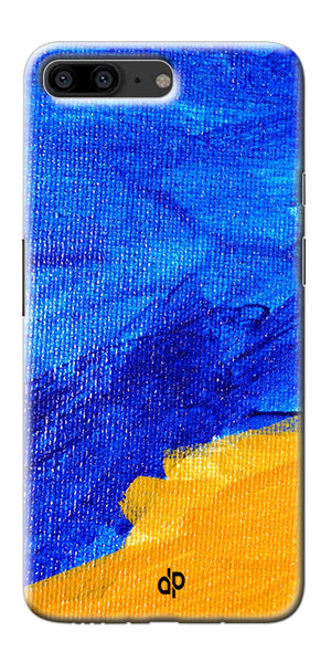 Digiprints abstract painted Printed Designer Back Case Cover For OnePlus 5
