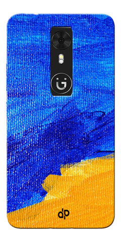 Digiprints abstract painted Printed Designer Back Case Cover For Gionee A1