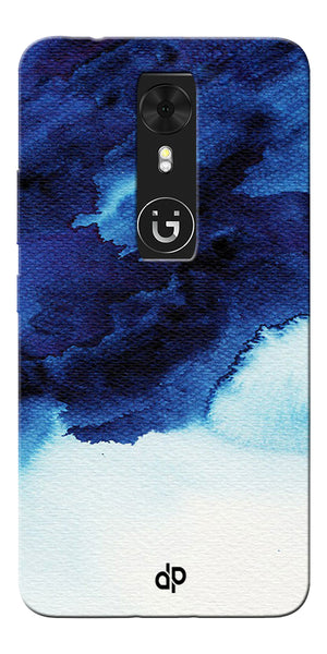 Digiprints Denim Printed background Printed Designer Back Case Cover For Gionee A1