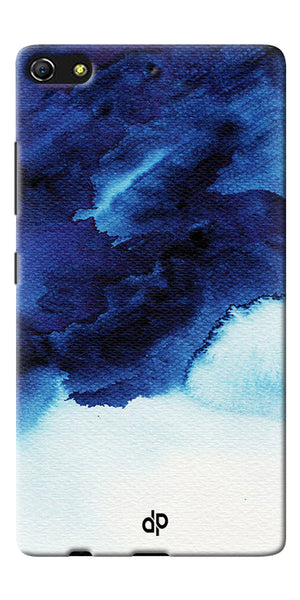 Digiprints Denim Printed background Printed Designer Back Case Cover For Gionee Elife S7