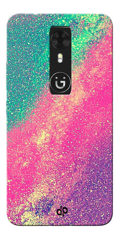 Digiprints glitter background Printed Designer Back Case Cover For Gionee A1