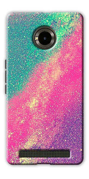 Digiprints glitter background Printed Designer Back Case Cover For Yu Yuphoria