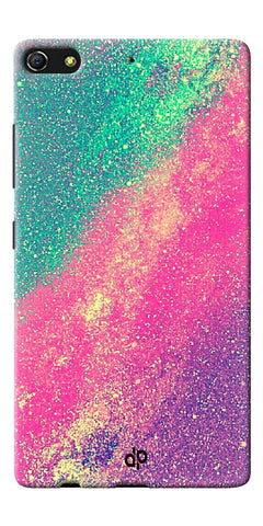 Digiprints glitter background Printed Designer Back Case Cover For Gionee Elife S7