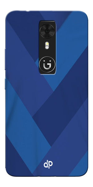 Digiprints cobalt blue back ground Printed Designer Back Case Cover For Gionee A1