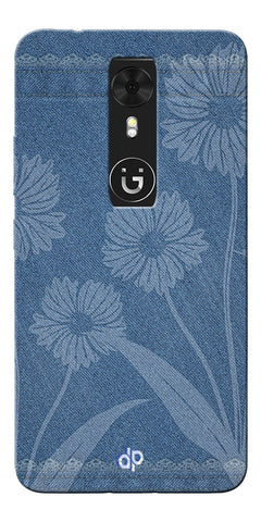 Digiprints cobalt blue Printed Designer Back Case Cover For Gionee A1