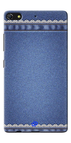 Digiprints cobalt blue Printed Designer Back Case Cover For Gionee Elife S7