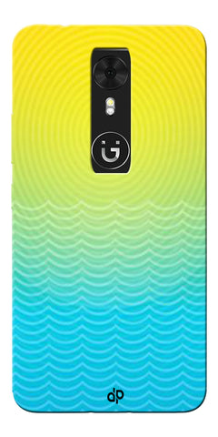 Digiprints Creative Sea Wate Printed Designer Back Case Cover For Gionee A1