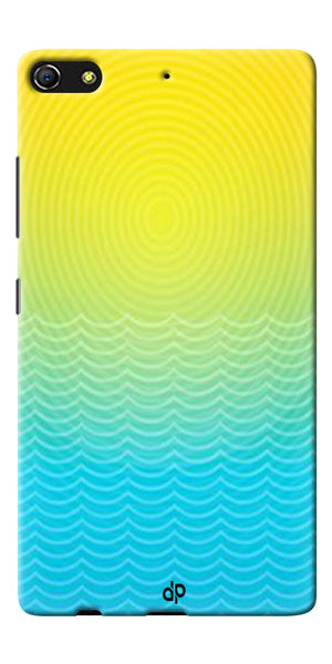 Digiprints Creative Sea Wate Printed Designer Back Case Cover For Gionee Elife S7