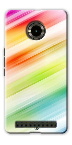 Digiprints Colorful background Printed Designer Back Case Cover For Yu Yunique