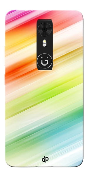Digiprints Colorful background Printed Designer Back Case Cover For Gionee A1