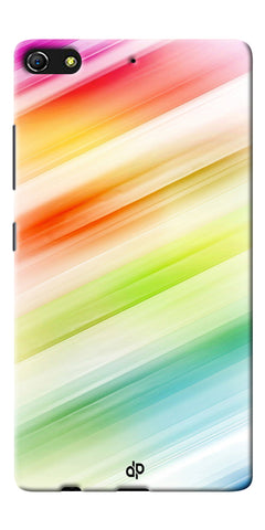 Digiprints Colorful background Printed Designer Back Case Cover For Gionee Elife S7