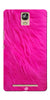 Digiprints PINK Printed Designer Back Case Cover For Gionee Marathon M5 Plus