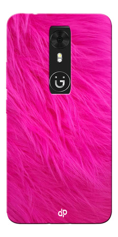 Digiprints PINK Printed Designer Back Case Cover For Gionee A1