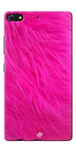 Digiprints PINK Printed Designer Back Case Cover For Gionee Elife S7
