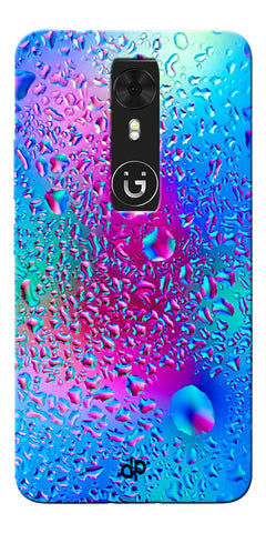 Digiprints colorful rainbow drop Printed Designer Back Case Cover For Gionee A1