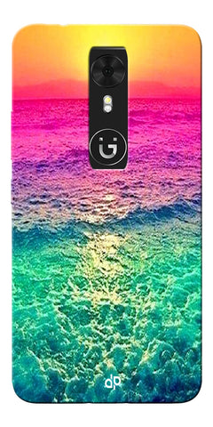 Digiprints Sunset Printed Designer Back Case Cover For Gionee A1