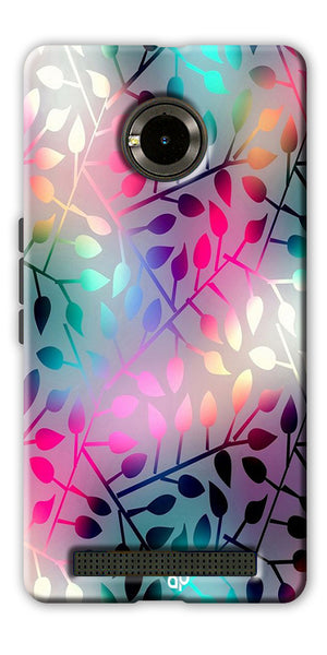 Digiprints Rainbow Pyramid Printed Designer Back Case Cover For Yu Yuphoria