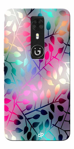 Digiprints Rainbow Pyramid Printed Designer Back Case Cover For Gionee A1