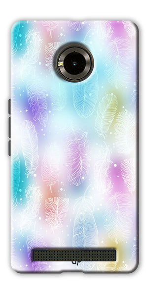 Digiprints glitter Printed Designer Back Case Cover For Yu Yunique