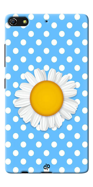 Digiprints flower Printed Designer Back Case Cover For Gionee Elife S7