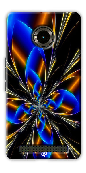 Digiprints abstract design Printed Designer Back Case Cover For Yu Yunique