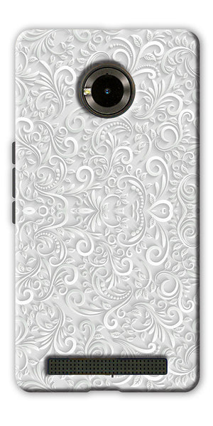 Digiprints Graphic Design Pattern Printed Designer Back Case Cover For Yu Yuphoria