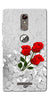 Digiprints Love rose background Printed Designer Back Case Cover For Gionee S6s