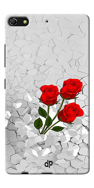 Digiprints Love rose background Printed Designer Back Case Cover For Gionee Elife S7