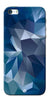 Digiprints Blue Diamond Design Printed Designer Back Case Cover For Apple iPhone 5