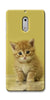Digiprints Cute Cat Printed Designer Back Case Cover For Nokia 6