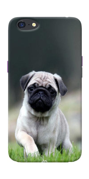 Innocent Pug Printed Designer Back Case Cover For Oppo A71