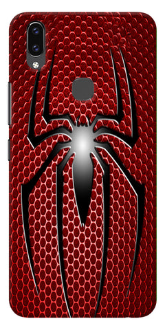 Spider Logo Printed Designer Back Case Cover For Vivo V9