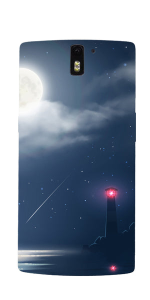 Digiprints Beautiful Midnight Printed Designer Back Case Cover For OnePlus 1