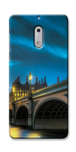Digiprints City Night London Printed Designer Back Case Cover For Nokia 6
