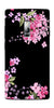 Digiprints Black Flower Art Printed Designer Back Case Cover For OnePlus 2