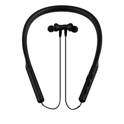 V35 Sports Wireless Headset/Earphones with Neck Band (Black)