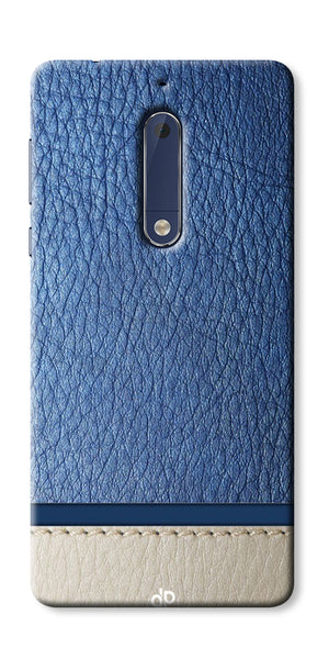 Digiprints Beautiful Leather Pattern  Printed Designer Back Case Cover For Nokia 3
